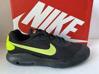 Nike AIR MAX OKETO (GS) Black Volt Athletic Running Shoes Youth Boys Sz 6 NEW