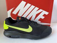 Nike AIR MAX OKETO (GS) Black Volt Athletic Running Shoes Youth Boys Sz 6 NEW
