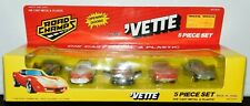ROAD CHAMPS CHEVY CORVETTE COLLECTION 5 PIECE SET OPENING DOORS
