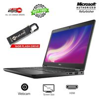 """Dell Latitude 5490 14"""" FHD i5-8350U 1.7-3.6GHz 8-16GB 256-512GB M2 SSD Windows10"""