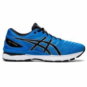 Asics GEL-NIMBUS 22 Herren Laufschuhe running shoes blau schwarz 1011A680.405