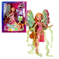 World of Winx - Dreamix Fairy Puppe - Fee Flora magisches Gewand