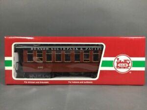 LGB 29182 Denver, South Park and Pacific G Gauge 4-Car Passenger Car Set