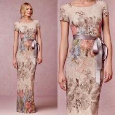 NEW $220 BHLDN Adrianna Papell Melinda Floral Dress MOTB Gown Size 2 8 14