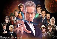 SET OF 2 DOCTOR WHO TV SHOW PICTURE POSTER HOME DECOR WALL ART PRINT NEW