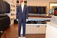 Cesare Attolini Suit IN Blue With Fine Nadelstteifen from Wool Super 140´S Gr
