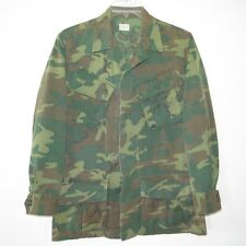 VINTAGE 1960s USMC US MARINE VIETNAM JUNGLE COMBAT TROPICAL JACKET SMALL REG