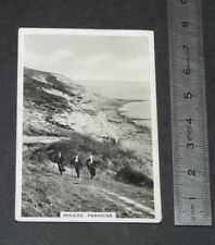 1938 OUR COUNTRYSIDE SENIOR SERVICE CIGARETTE CARD 45 HIKERS' PARADISE