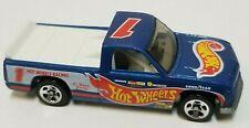 Hot Wheels Chevy 1500 1996 Blue Loose Car Malaysia Base