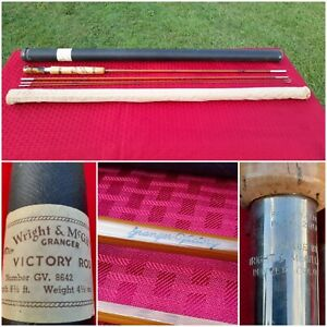 Wright & McGill Granger Victory 8-1/2' Bamboo Fly Rod GV-8642 MintCond NvrFished