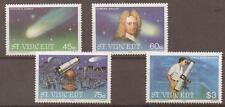 ST.VINCENT SG973/6 1986 HALLEYS COMET MNH