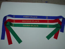 HORSE AWARD RIBBONS 1ST - 3RD PLACE,CLUBS,EVENTS,PARTYS