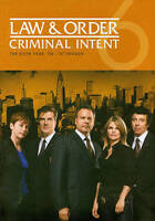 Law & Order Criminal Intent Complete Sixth YEAR Season 6 Six NEW 5-DISC DVD SET