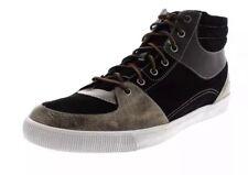 Coffret 👤 Timberland 👤 UK 8.5 Glastenbury pour Homme en Cuir Noir Baskets Chaussures 9US/43
