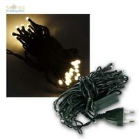 Lichterkette mit 35 LED warmweiß, für kleinen Weihnachtsbaum Innen, Lichtkette