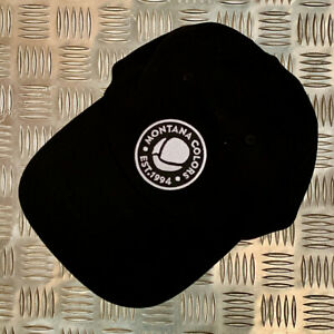 MTN Polo Cap - Est.1994 by Montana Colors - Black with Black & White Logo Detail
