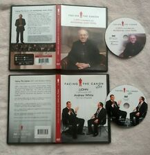 Facing The Canon LIVE Andrew White / Justin Welby DVD RARE R2 UBC TC CHRISTIAN