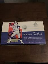 2000 Upper Deck SP Authentic Football Opened Hobby Box NFL Stars 169 Total Card
