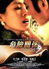 """Jang Dong-Gun """"Dangerous Liaisons"""" Zhang Ziyi 2012 Romance Region 3 DVD"""
