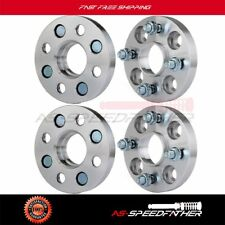4X 20mm Hubcentric 4x100 to 4x100 Wheel Spacers 12x1.5 For 2002-2014 Mini Cooper