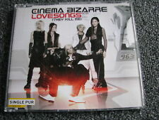 Cinema Bizarre-Lovesongs Maxi CD-2 Tracks-2007-Island-Pop-Universal