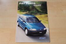 75509) Fiat Punto Stile Prospekt 04/1998