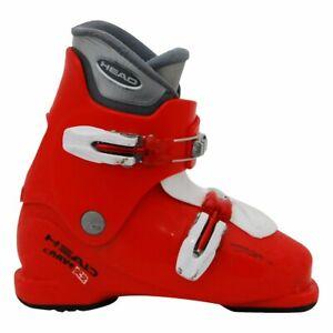 Chaussure de ski occasion junior Head carve X rouge - Qualité A - 29/18.5MP
