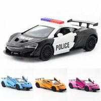McLaren 570S V8 2015 Sports Car 1:36 Model Car Diecast Toy Vehicle Pull Back Kid