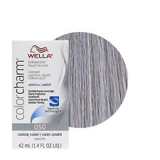 Wella Color Charm Permament Liquid Hair Dye Additive 42mL Cooling Violet 050
