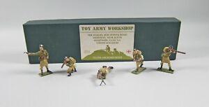 Toy Army Workshop BS47 Highlanders in Glengarries Officer, Gunner+ In Box