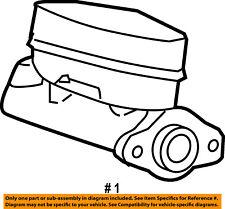 FORD OEM-Brake Master Cylinder 8L2Z2140B