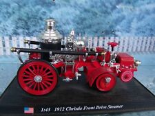 POMPIERS AMERICAIN CHRISTIE FRONT DRIVE STEAMER 1912 1/43
