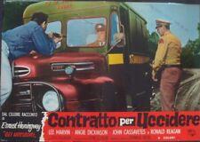 KILLERS Italian fotobusta movie poster 4 ANGIE DICKINSON LEE MARVIN CASSAVETES