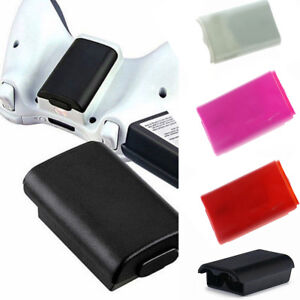 For Xbox 360 Wireless Controller AA Battery Pack Back Cases Covesr Holder Shell