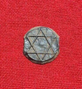 Morocco Maroc 2 Falus 1260AH Moulay Abd al-Rahman Mint Ribat Al Fath Rare Coin