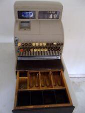 Vintage National Cash Register Working Original Glass With Key