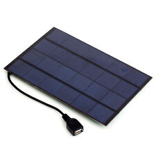 4.2W 5V Grade A Monocrystalline Silicon Solar Panel with USB Output