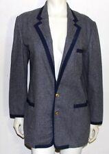 Polo Ralph Lauren grey flannel women's jacket 10