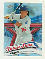 2020 Topps Chrome FUTURE STARS #FS-2 WILL SMITH Los Angeles Dodgers