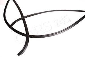 Genuine BMW 5 Series E60 Sedan Rear Window Cover Moulding Trim OEM 51317057415