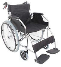 Ultra Lightweight Alloy Self Propelled Travel Folding Wheelchair Aluminium 11 Kg