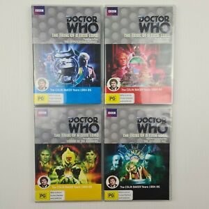 BBC Doctor Who - The Trial of a Time Lord DVD - Parts 1-14 - R4 - TRACKED POST