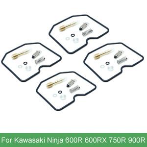 4 Set Carburetor Rebuild Kit for Kawasaki Ninja 600R/RX 750R 900R ZX Carb Repair
