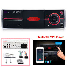 1Din Audio Stereo MP3 Player Bluetooth Stereo Radio FM/AUX Handsfree Calling Top