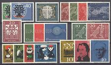 BUNDESPOST - 1960 complete year MNH