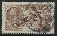 SG450.  2s6d.Chocolate Brown. Good Used. Clean Stamp Both Front & Back. Ref:0587