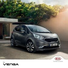 Kia Venga 2016 catalogue brochure Czech Tcheque