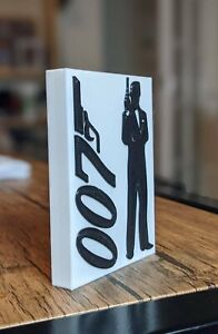 Decorative JAMES BOND 007 self standing logo display