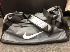 Nike Brasilia Duffel Medium Bags Running Gray Cross GYM Bag Sacks