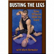 Busting The Legs Mark Hatmaker 3 Dvd Training Set Grappling leglock Bjj Mma B566